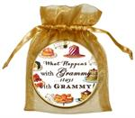 O8317-What happens with Grammy stays with Grammy Ornament