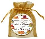 O8318-What happens with Nana stays with Nana Ornament