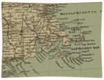 P1820 - New England Map Decoupage Tray