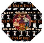 P194  Halloween Bobbing for Apples Decoupage Plate