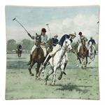 P268-SQ Polo Decoupage Plate