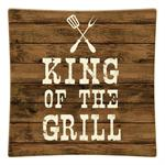 P8272- King of the Grill Decoupage Plate