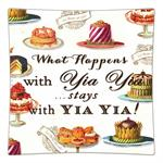 P8320-What happens with Yia Yia stays with Yia Yia Decoupage Plate