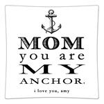 P8443-Mom You Are My Anchor Personalized Plate