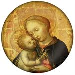 PW103-Pale Madonna Paperweight