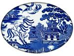 PW1386-Blue Willow Paperweight