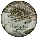 PW1769 - Antique Nantucket Town Paperweight