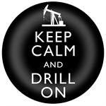 PW8037-Keep Calm and Drill On Paperweight On Shore