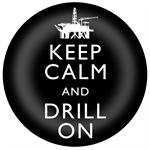 PW8261-Keep Calm and Drill On Paperweights Off Shore