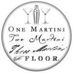 PW8314-One Martini Two Martini Three Martini Floor Paperweight