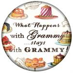 PW8317-What happens with Grammy stays with Grammy Paperweight