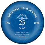 EHS 25th Anniversary Decoupage Paperweight Recogntion Award Gift