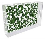 St. Patrick's Day Lucite Trays