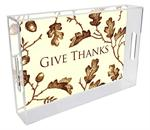 Thanksgiving Lucite Trays