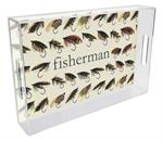 T1879 - Fly Fishing Lucite Tray