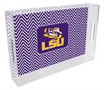 T3211-LSU Lucite Tray