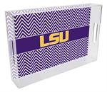 T3212-LSU Lucite Tray