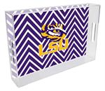 T3213-LSU Lucite Tray