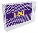 T3215-LSU Lucite Tray