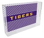 T3216-LSU Lucite Tray