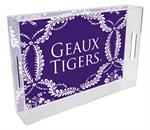 T3219-LSU Lucite Tray