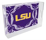T3220-LSU Lucite Tray