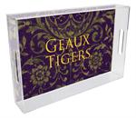 T3224-LSU Lucite Tray