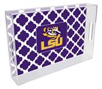 T3214-LSU Lucite Tray