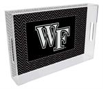 T3605-Wake Forest University Lucite Tray