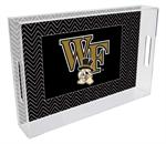 T3606-Wake Forest University Lucite Tray
