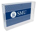 T4514-SMU/Southern Methodist University Lucite Tray