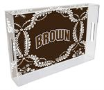 T5111-Brown  University Tray