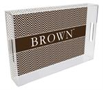 T5115-Brown  University Tray
