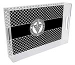 T6512-Providence College Lucite Tray