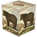TB1158 - Brown Bear Tissue Box Cover