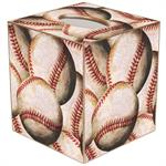TB1188 - Antique Baseball Tissue Box Cover