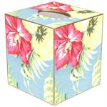 TB1233 - Hawaiian Floral Tissue Box Cover