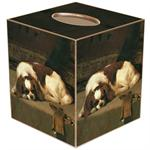 TB124-King Charles Spaniel Dog Tissue Box Cover