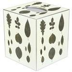 TB1251 - Sage Leaves Tissue Box Cover