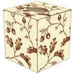 TB1269 - Brown Acorns Tissue Box Cover