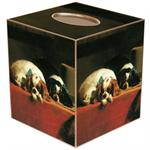 TB137-King Charles Spaniels Tissue Box Cover