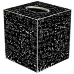 TB1387-Einstein's E = mc2 Tissue Box Cover