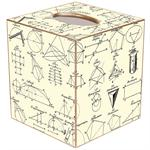 TB1388- Geometry Tissue Box Cover