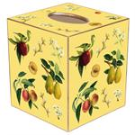 TB1434-Fruit on Yellow Tissue Box Cover