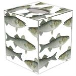 TB1519-Striped Bass Tissue Box Cover