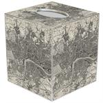 TB1574 - Antique London Map Tissue Box Cover