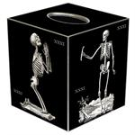 TB1592- Skeleton Tissue Box Cover