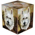 TB174-Westie Tissue Box Cover