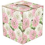 TB1780 - Heirloom Roses Pink & White Tissue Box Cover