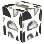 TB1845-Mussel Shells Tissue Box Cover